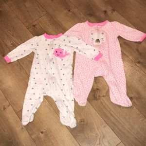 Other - 3-6 month girls pajamas set of 2